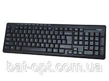 Клавиатура HV-KB312, USB, black (24204)