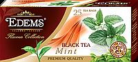 """Черный ароматизированный чай в фильтр-пакетах """"Edems Mint"""" (25 ф/п)"""