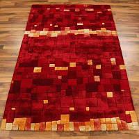 Яркие ковры из шерсти и вискозы, интернет магазин современных ковров