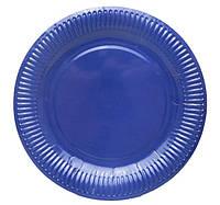 Тарелочка синяя 18см