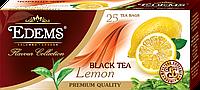 """Черный ароматизированный чай в фильтр-пакетах """"Edems Lemon"""" (25 ф/п)"""