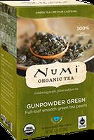 "Зеленый чай ""Ганпаудер грин"" Numi"