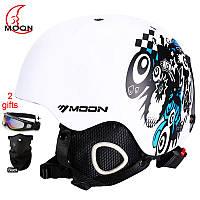 Горнолыжный / сноубордический шлем DOTOMY MOON (White Crazy Night)