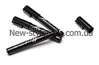 Карандаш-маркер NAIL ART PEN с акриловой краской для рисования, дизайна на ногтях, цвет черный, фото 1