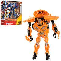 Трансформер робот+машинка16 см 1300201-1