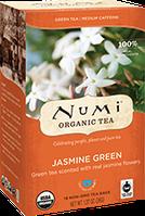 """Зеленый чай""""Зеленый жасмин"""" Numi"""