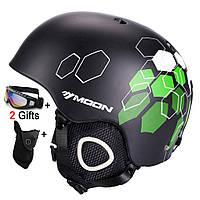 Горнолыжный / сноубордический шлем DOTOMY MOON (Black Hexagonal)