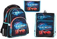 """Комплект. Рюкзак школьный Hi Speed K17-513S+ пенал + сумка, ТМ """"Kite"""""""