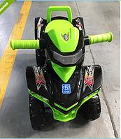 Машинка-каталка Baby Mix M 3502-2-5 черно -зеленый  ***