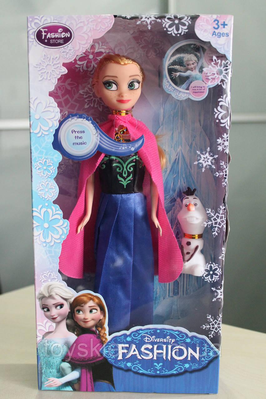 Кукла Frozen Анна 361 музыкальная