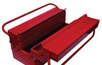 Ящик инструментальный стальной Intertool 450 мм, 3 секции