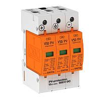 Комбинированный разрядник V50 для фотогальванических установок, 600 В постоянного тока