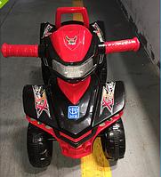 Машинка-каталка Baby Mix M 3502-2-3 красно-черный ***
