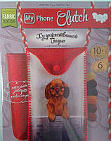 Вышивка гладью My Phone Clutch: Собачка MPCL-01-06 Danko-Toys Украина