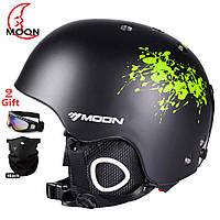 Горнолыжный / сноубордический шлем DOTOMY MOON (Green Ink)