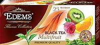 """Черный ароматизированный чай в фильтр-пакетах """"Edems Multifruit"""" (25 ф/п)"""