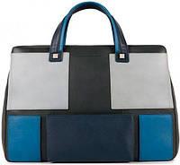 Мужская кожаная сумка Piquadro KIRK CA3687S79_BLU синий