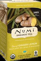 """Зеленый чай без кофеина """"Лимонный имбирь"""" Numi"""