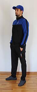 Мужской спортивный костюм Reebok черный Турция реплика