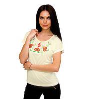 Жіноча вишита футболка. Великий вибір жіночих вишиванок. Вишиванки жіночі. dbab41037d356