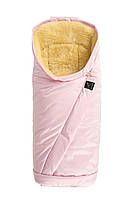 Kaiser - конверт на овчине Премиум Coosy-Sheepskin medi, сверкающий розовый