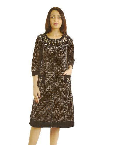 46073f1895989 Купить Велюровый халат женский Wild love продажа в интернет-магазине ...