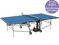 Теннисный стол-всепогодный синий Donic Outdoor Roller 600 для дома и спортзала