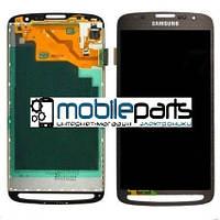 Оригинальный Дисплей (Модуль) + Сенсор (Тачскрин) для Samsung i9295 Galaxy S4 Active | i537 (Серый)