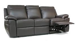 """Новий шкіряний диван тримісний-реклайнер """"PHILADELPHIA"""""""
