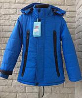 Детская куртка ветровка парка для мальчика 5-6 лет (116 см). Демисезонная осень