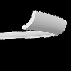 Карниз гибкий Європласт 1.50.225 F (55x57)мм