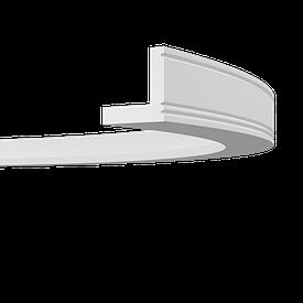 Карниз гибкий Європласт 1.50.226 F (55x55)мм