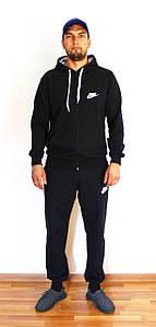 Мужской спортивный костюм Nike синий  реплика