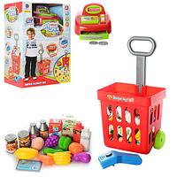 Детский супермаркет-магазин  661-84  с тележкой ***