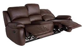"""Стильный трехместный диван с реклайнером """"DALLAS"""" (Даллас)"""