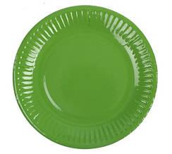 Тарелочка зеленая 18см