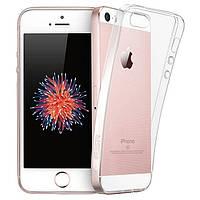 Защитный силиконовый чехол для iPhone 5 / 5S / SE, фото 1