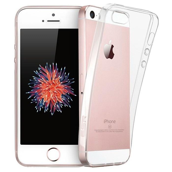 Защитный силиконовый чехол для iPhone 5 / 5S / SE