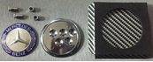 Эмблема MERCEDES металл  62 мм