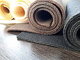 Каучук листовой для ремонта и производства обуви 500*400*2мм. черный, фото 5