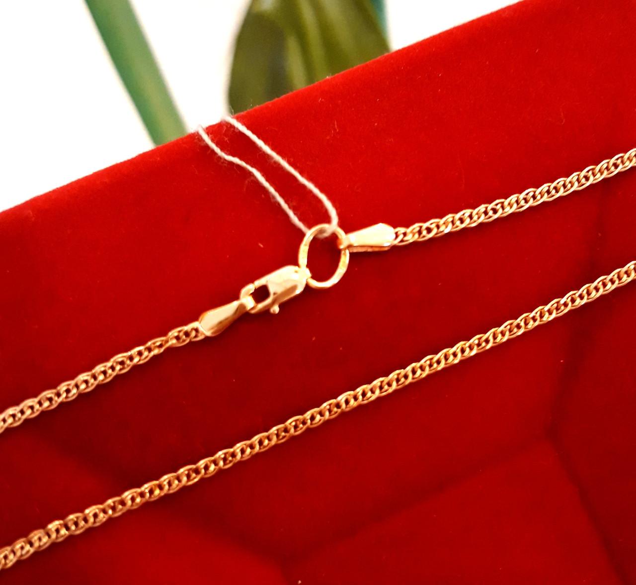 Золотая цепочка Нонна ширина 2 мм, вес 2.08 г