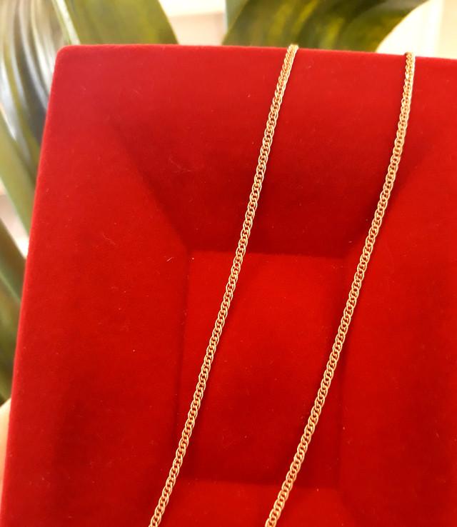 Легкая золотая цепочка Нонна ширина 2 мм фото 1