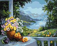 Картина по номерам без коробки Утреннее вдохновение (BK-GX7135) 40 х 50 см
