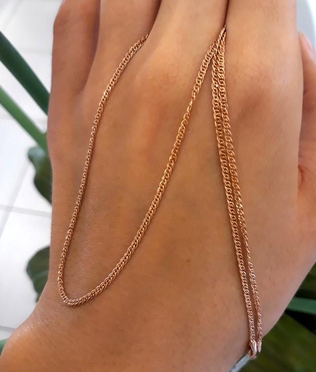 Легкая золотая цепочка Нонна ширина 2 мм фото 4