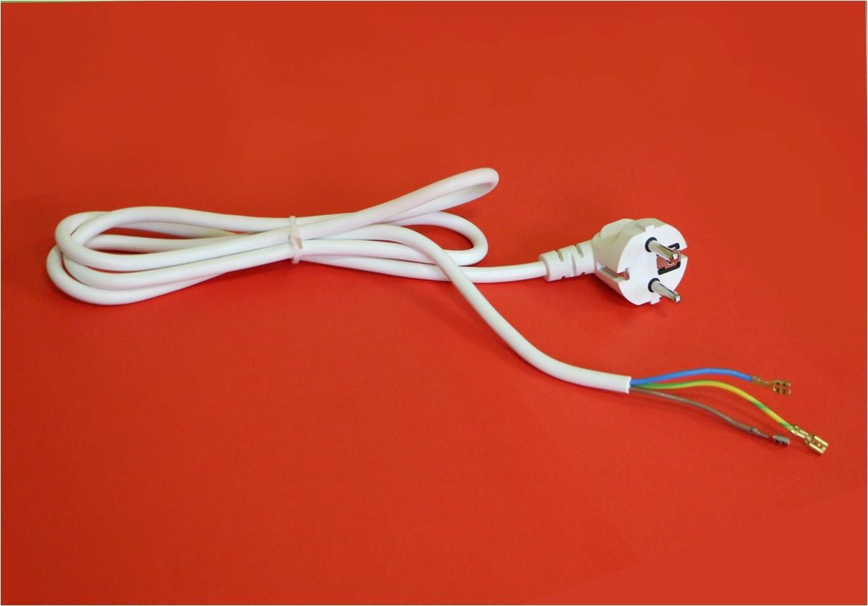 Комплект кабеля и электро-вилки к настенным электро-панелям УКРОП