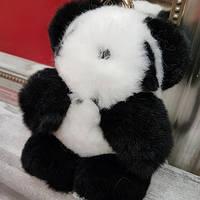 Брелок Панда из натурального меха