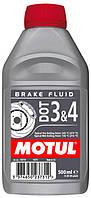 Тормозная жидкость (0,5л.) MOTUL DOT 3&4 Brake Fluid