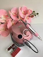 Фрезер аппарат для маникюра, педикюра и наращивания ногтей. Nail Drill ZS-601cкорость: 35000 об/мин Розовый