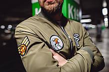 Мужской бомбер Ranger Green зеленый, фото 2