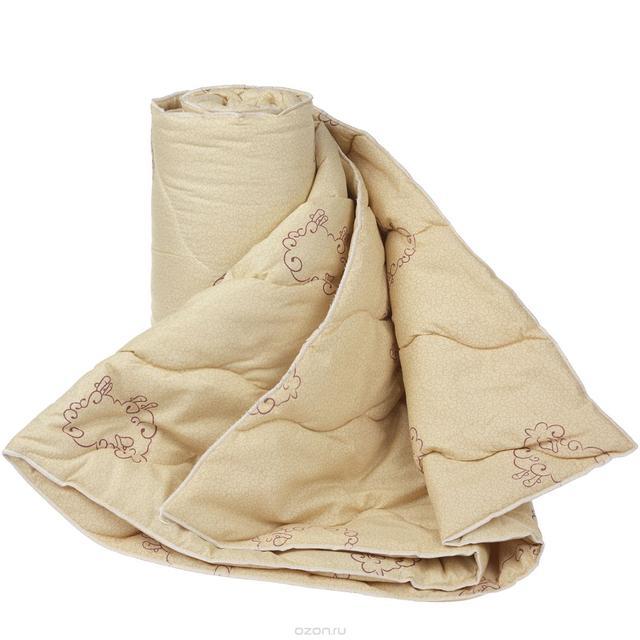 Одеяло шерстяное двухспальное 180х210